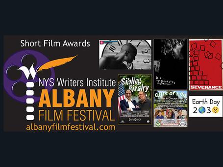 Announcing winners of the Albany Film Festival Short Film Awards