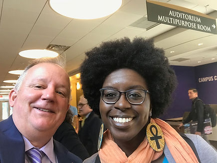 "University at Albany graduate D. Colin was one of dozens of local authors who attended the Albany Book Festival. Her first collection of poems, ""Dreaming in Kreyol,"" focuses on her Haitian heritage and history."