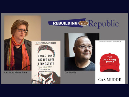 "Rebuilding the Republic: ""Is White Nationalism Becoming Mainstream?"""