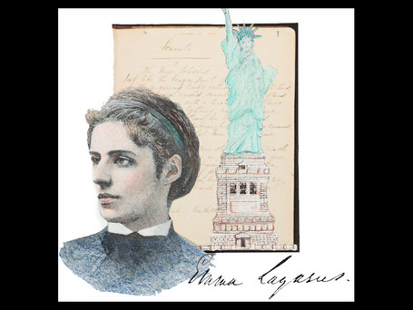Remembering Emma Lazarus on the day we commemorate our nation's independence