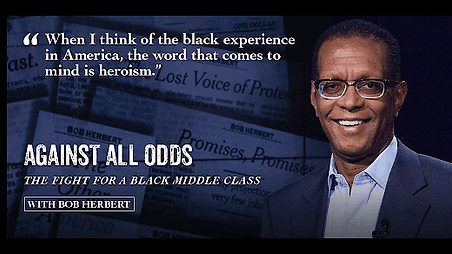 """BobHerbert documentary """"Against All Odds"""""""