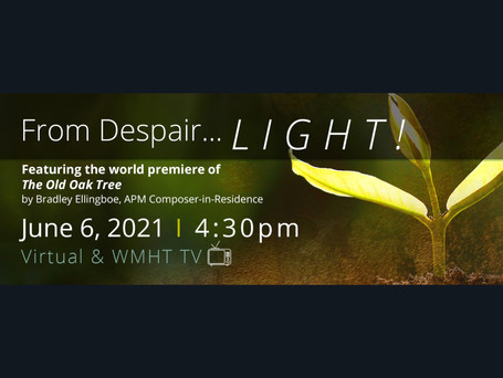 """""""From Despair... Light"""" concert coming Sunday"""
