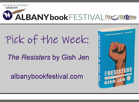 "Albany Book Festival Pick of the Week: ""The Resisters"" by Gish Jen"