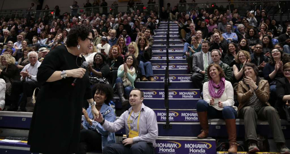 Supreme Court Justice Sotomayor at the University at Albany