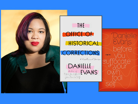 Danielle Evans, author of the short story collection The Office of Historical Corrections