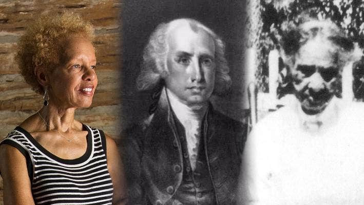 Bettye Kearse, James Madison, enslaved cook named Coreen. (Julia Robinson / Washington Post)