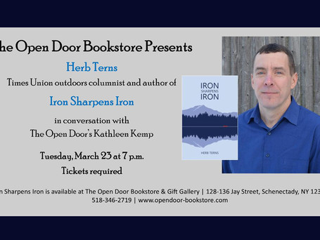 Author talk on Tuesday with outdoors columnist/author Herb Terns