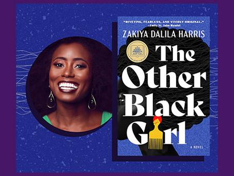 Our season-opening event: Zakiya Dalila Harris, author of The Other Black Girl
