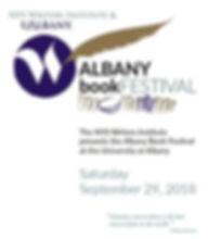 Albany Book Festival program
