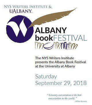 Albany Book Festival program