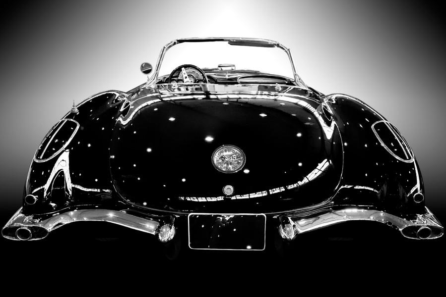 Corvette Heck SW Kalender als Smartobjek