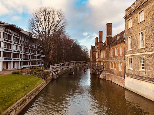 A new adventure: Marie Curie Fellowship at University of Cambridge