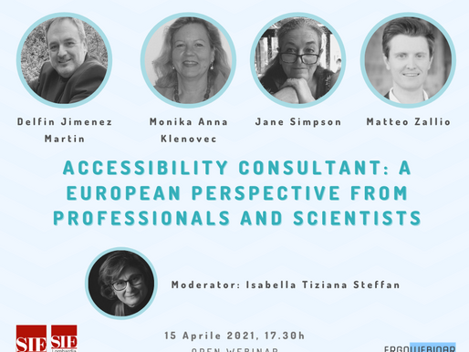 Webinar: Accessibility consultant: A European perspective from professionals and scientists