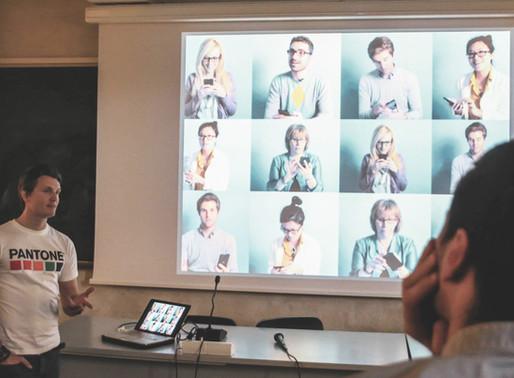 Back to the roots: Lecture at Unievrsità degli Studi di Genova, DaD on Silicon Valley Design stories