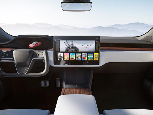 The Tesla 'yoke' steering control. Are we going to see it in the production vehicle?