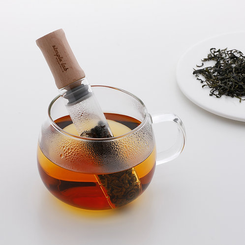 ELIXIR(+) glass tea stick/infuser