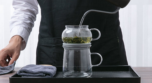 AIRO air-lock easy brewing tea set (Magic Brew)