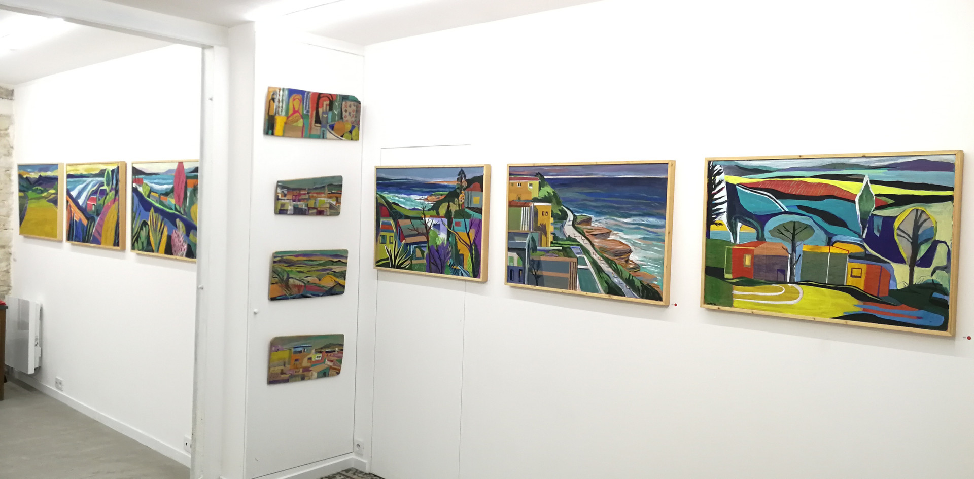 Exposition Visage Paysage, Laurent Corvaisier