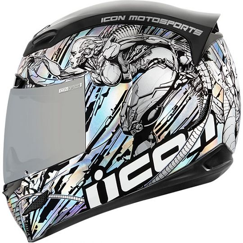 Icon's Airmada Helmet Mechanica
