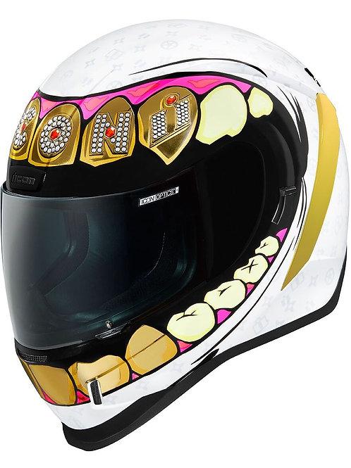 Icon's Airform Helmet Grillz
