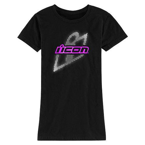 Icon's Sparkle Slant T-Shirt (Women's)