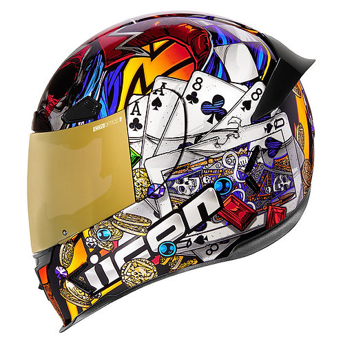 Icon's Airframe Pro Helmets LuckyLid3