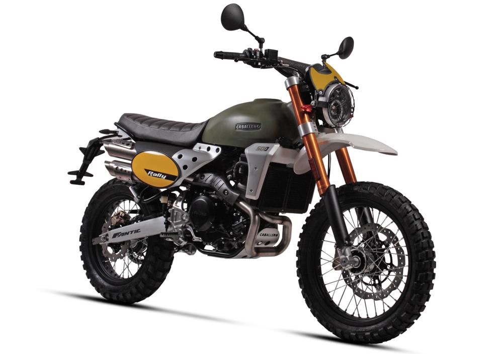 NEW Fantic Caballero motorcycles