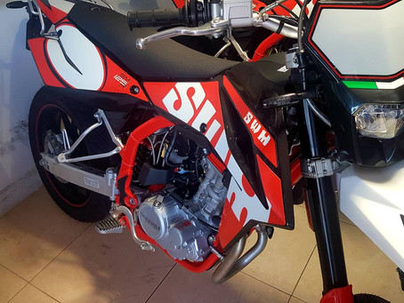 Brand new SWM RS 125R and SWM SM 125R