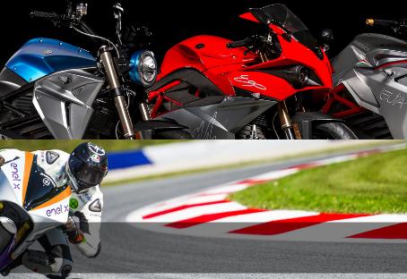 Energica Electric Motorbikes!