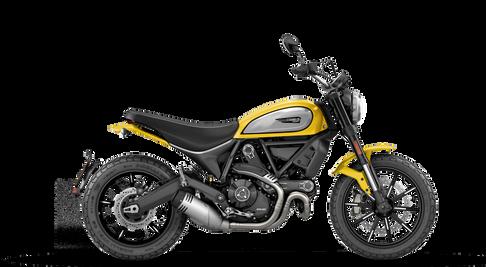 Ducati Scrambler Icon Yellow