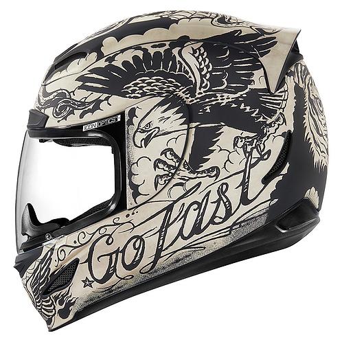 Icon's Airmada Helmets Scrawl