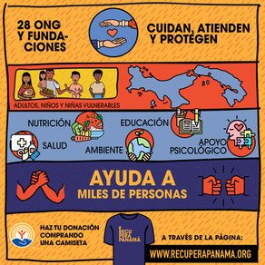 #RecuperaPanamá: recolecta dinero para el Fondo de Apoyo ONG durante la pandemia