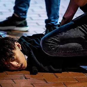 Protestas en Hong Kong durante la pandemia del COVID-19