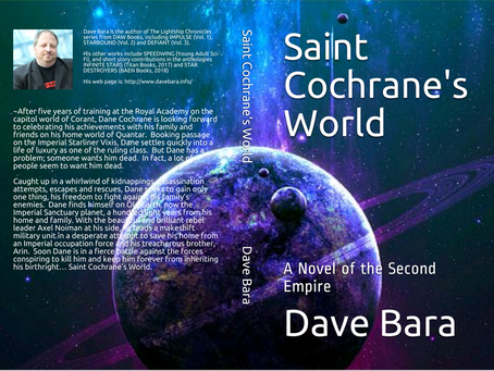 Saint Cochrane's World is available as a Nook eBook