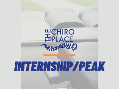 Internship/PEAK Experience 2020