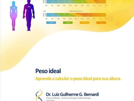 Peso Ideal - Aprenda a calcular o peso ideal para sua altura