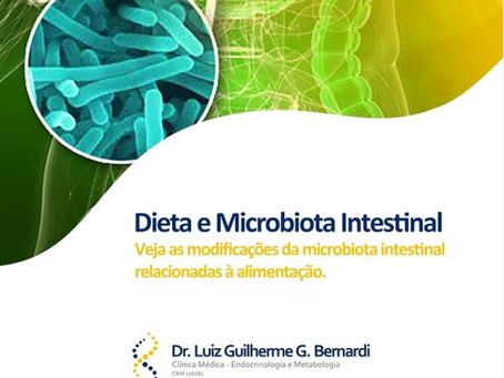 Dieta e Microbiota Intestinal - Veja as modificações relacionadas à alimentação