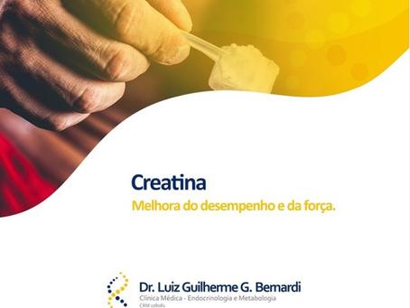 Creatina - Melhora do desempenho e da força