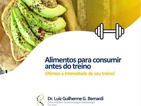 Alimentos para consumir antes do treino - Otimize a intensidade de seu treino!