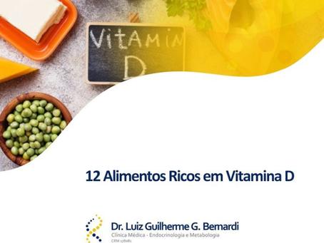 12 Alimentos Ricos em Vitamina D