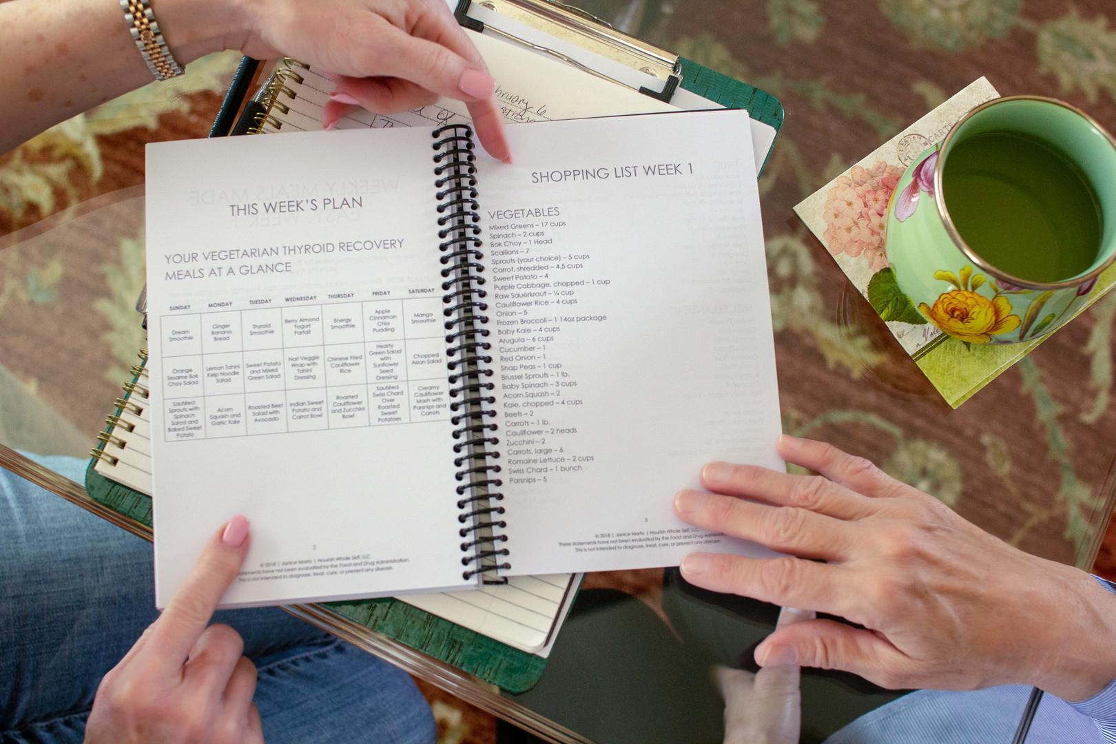 Nutrition notebook