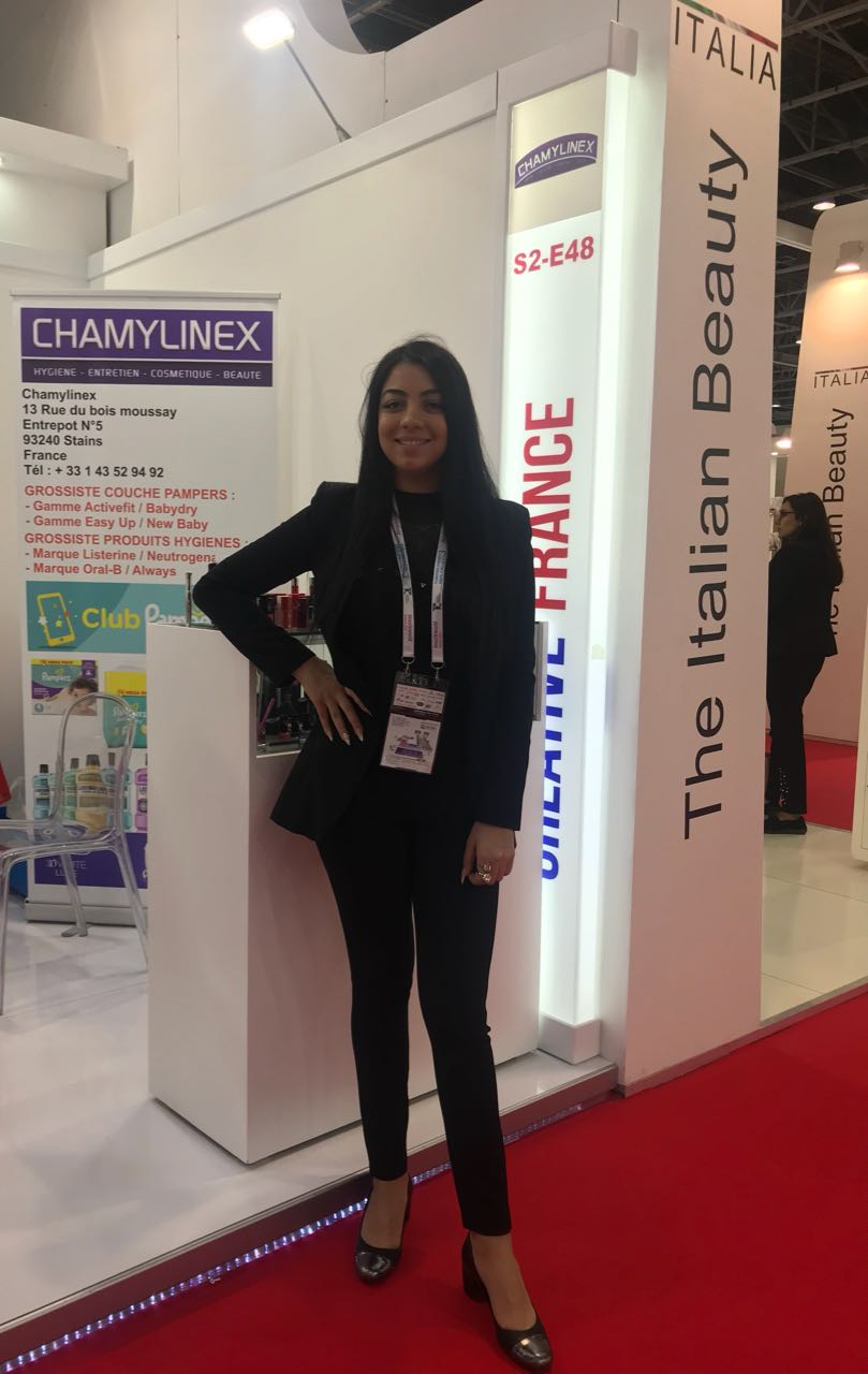 SOUAD AT BEAUTYWORLD 18