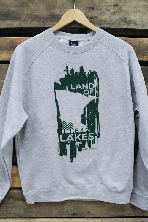 Get Outside Unisex Land of Lakes Crew