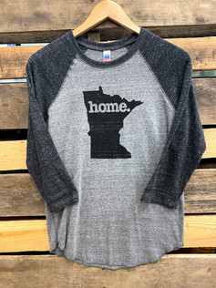 Home State Minnesota 3/4 Sleeve Tee