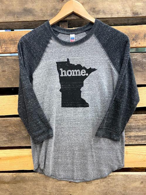 Home State Minnesota 3/4 Sleeve Tee