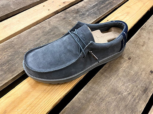 Hey Dude Wally Suede Grey