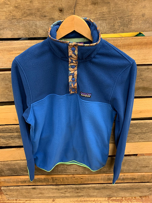 Patagonia Men's Micro D Snap T Pullover Bayou Blue