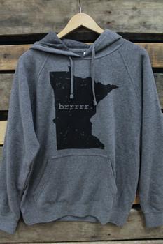 Minnesota Awesome Unisex MN Brrr Hoodie