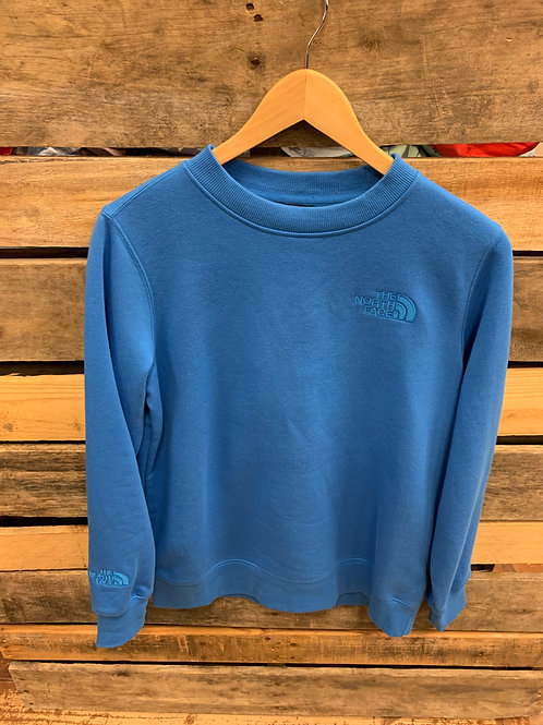 The North Face Women's Tonal Crew Sweatshirt Clear Lake Blue