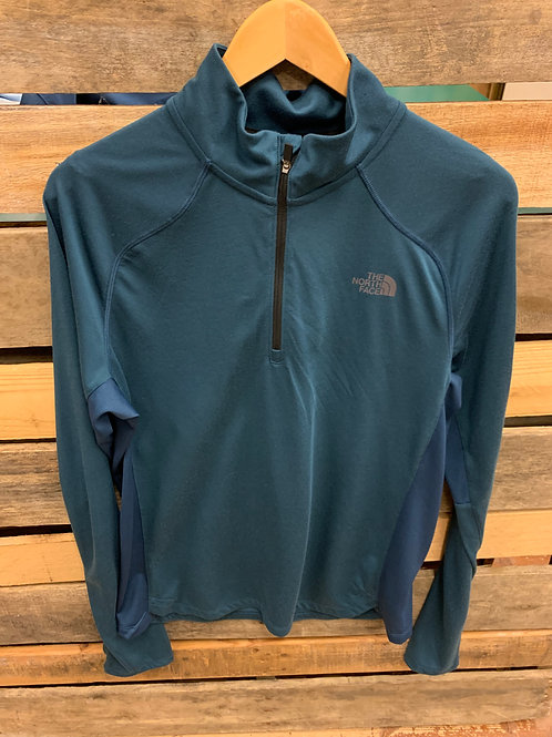 The North Face Men's Essential 1/4 Zip Blue Wing Teal